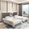 酒店家具标间全套定制宾馆单间床经济型公寓出租屋客房软包床头